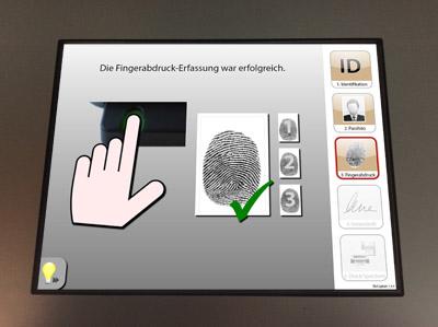 Fingerabdruck-Erfassung